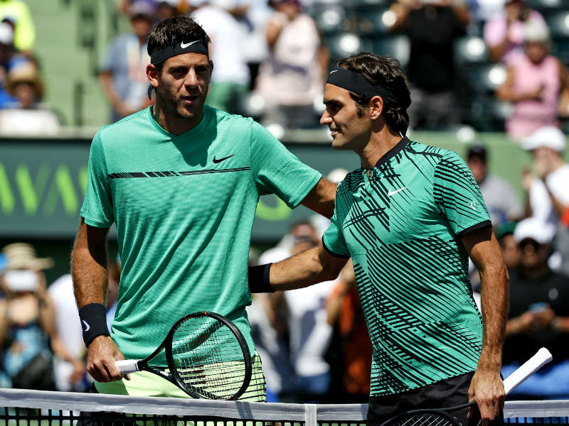 Federer-Del Potro, final anticipada