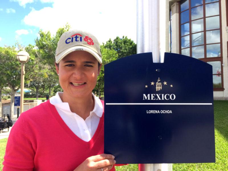 Lorena Ochoa, al Salón de la Fama