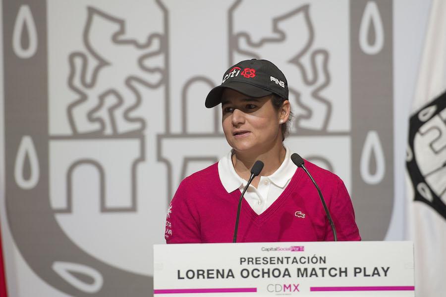 Grandes figuras en el Lorena Ochoa Invitational
