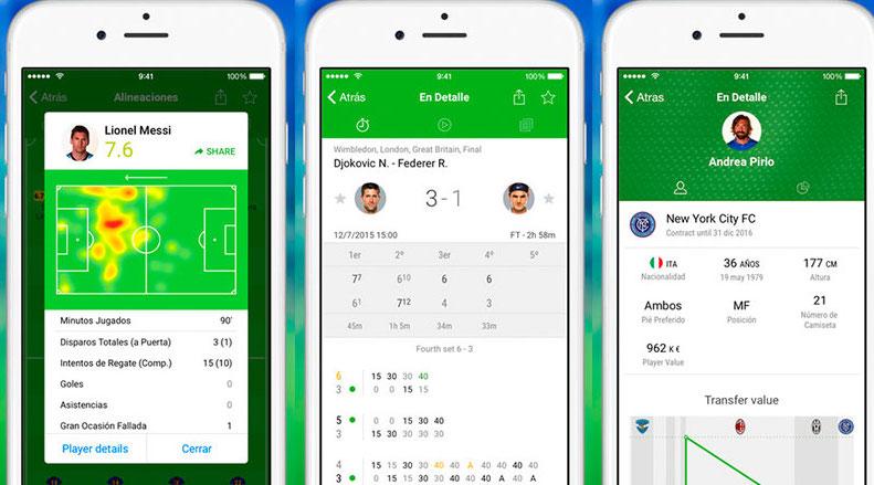 Las Mejores Apps Para Ver Resultados Deportivos Estadio Deportes