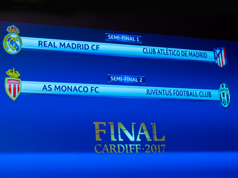 Definen semifinales de Champions