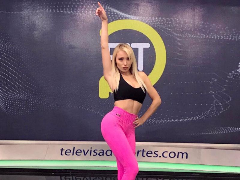 Daniella Chavez Refuerzo De Televisa Deportes