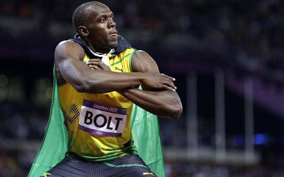 Deseo estar entre los mejores 50 futbolistas: Usain Bolt
