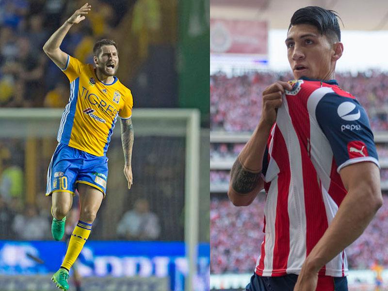 Chivas vs Tigres por la supremacía de la Liga MX