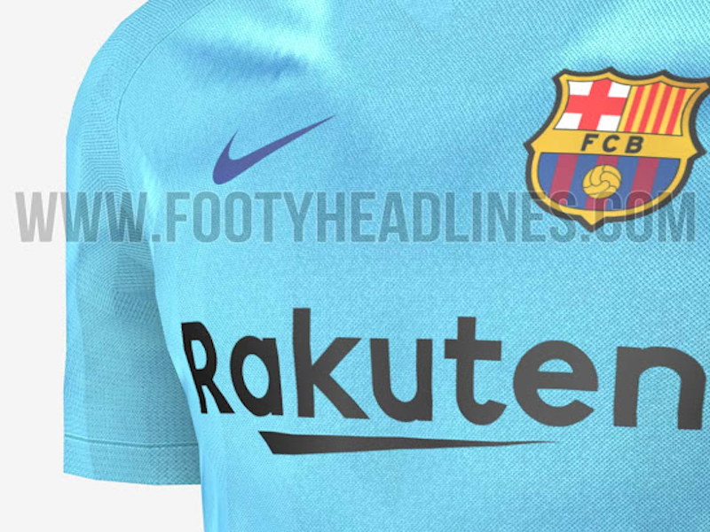 Filtran nuevo uniforme del Barça