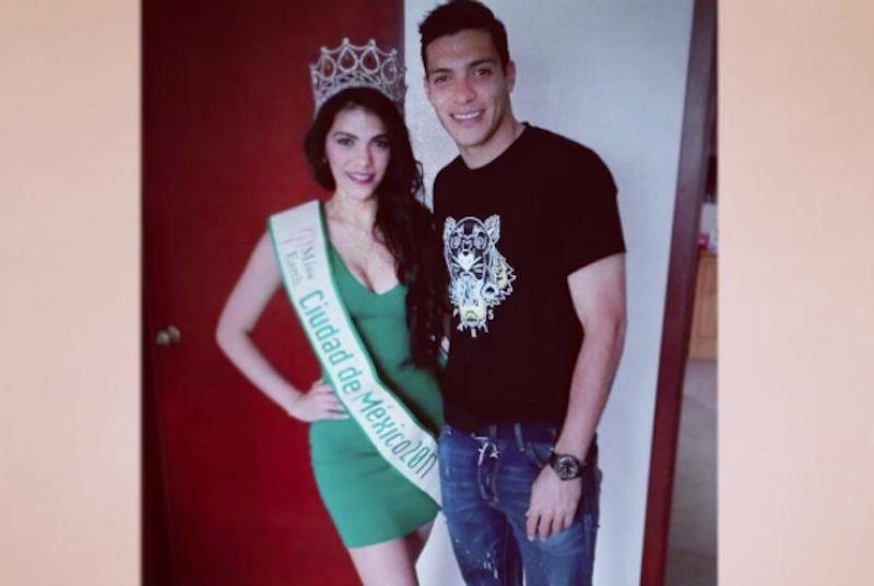 Hermana de Raúl Jiménez gana concurso de belleza