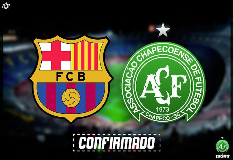 Revelan fecha de Barça vs Chapecoense