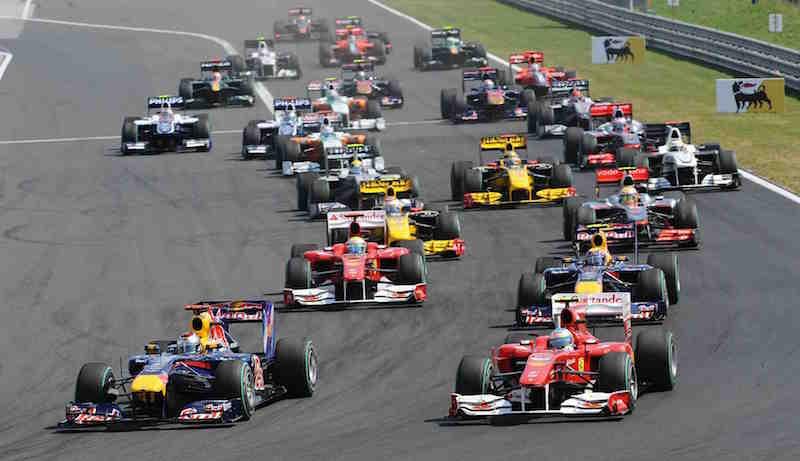 Calendario de la F1 para el 2018