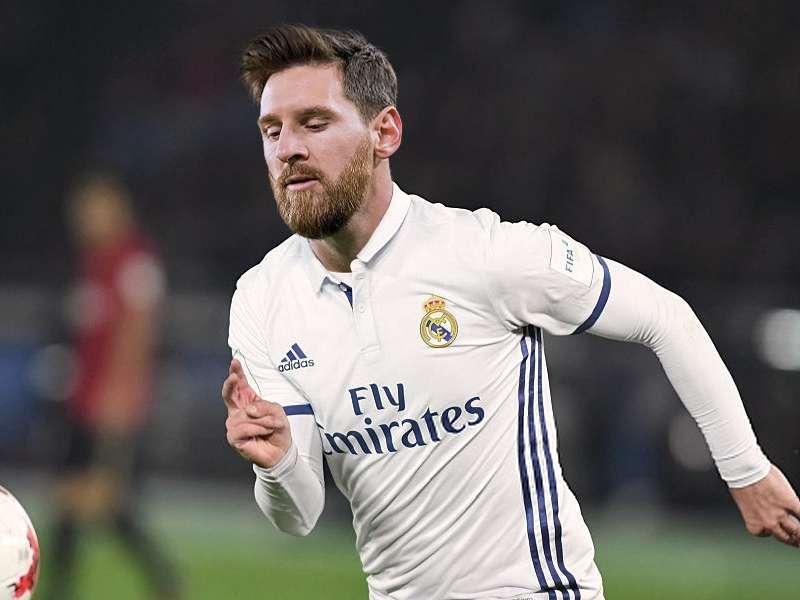 Messi Real Madrid