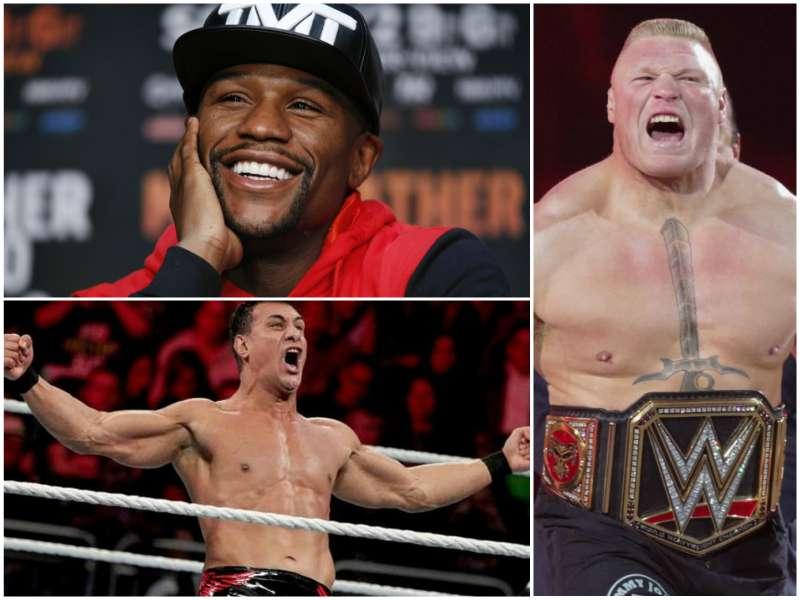 Alberto El Patrón explota contra Mayweather y Brock Lesnar