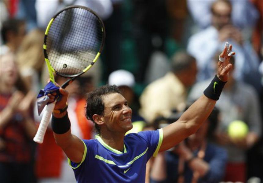 ¡Despacito! Rafa Nadal 'camina' en el Roland Garros