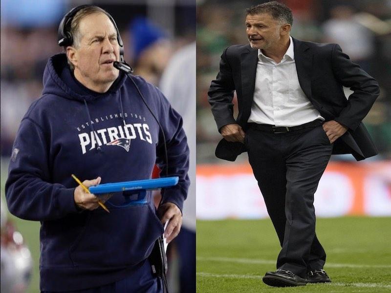 Bill Belichick 'inspira' las rotaciones de Osorio