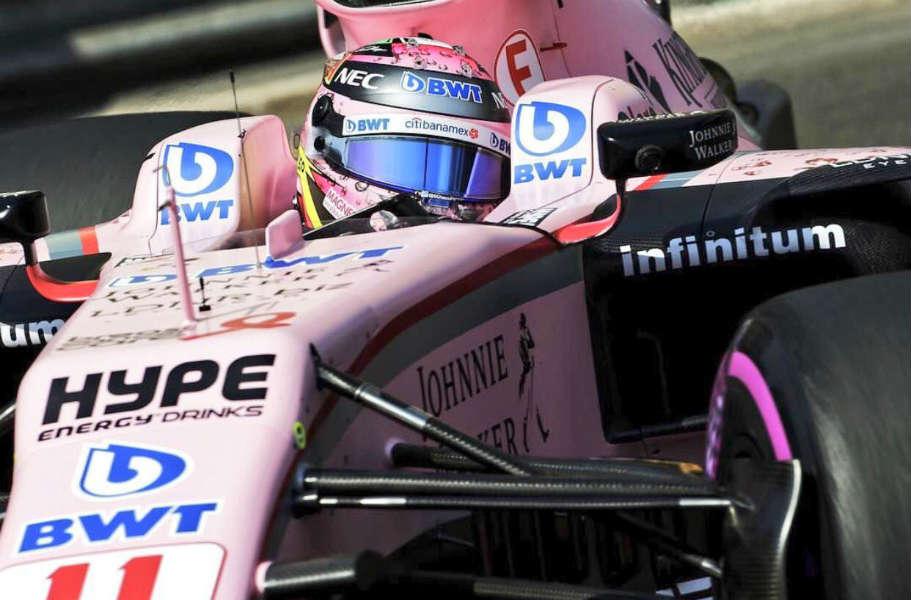 Force India se 'disculpa' con Checo Pérez
