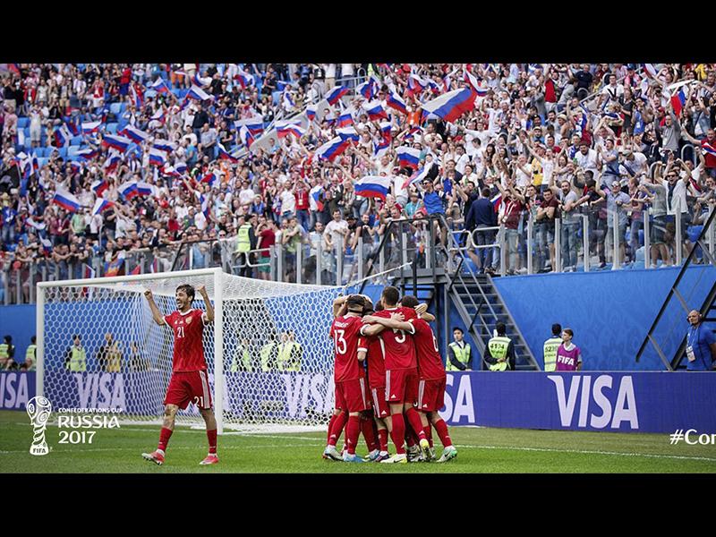 Rusia se estrena en Confederaciones con victoria