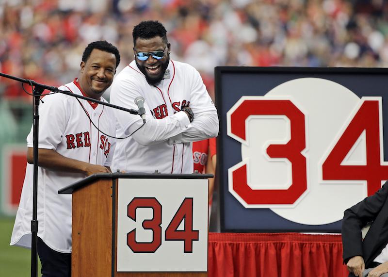 'Big Papi' es homenajeado por Boston