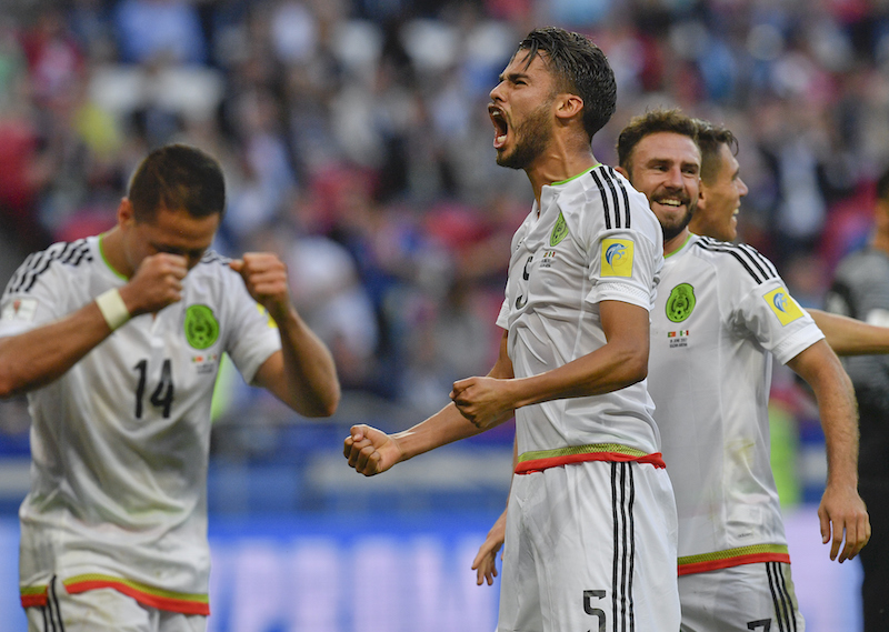 6 cambios de México para partido vs Nueva Zelanda