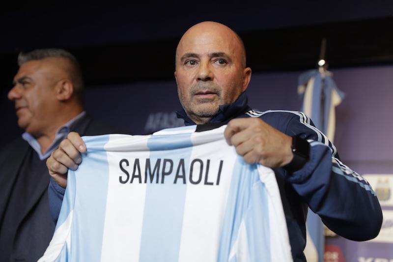 Sampaoli es presentado con Argentina