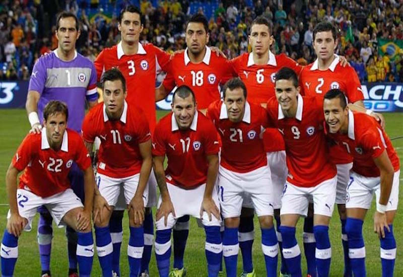Chile sufre delicada baja de cara a Confederaciones