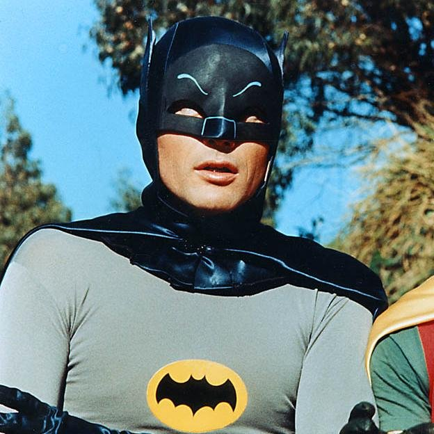 Falleció Adam West, el primer Batman