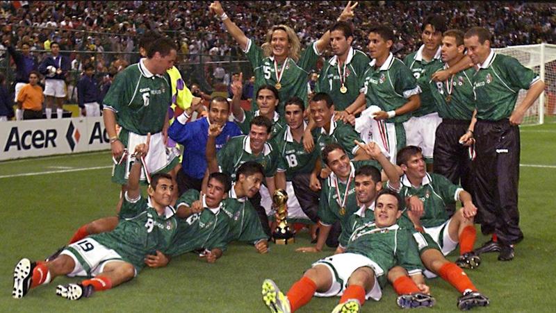 Historia del 'Tri' en Copa Confederaciones