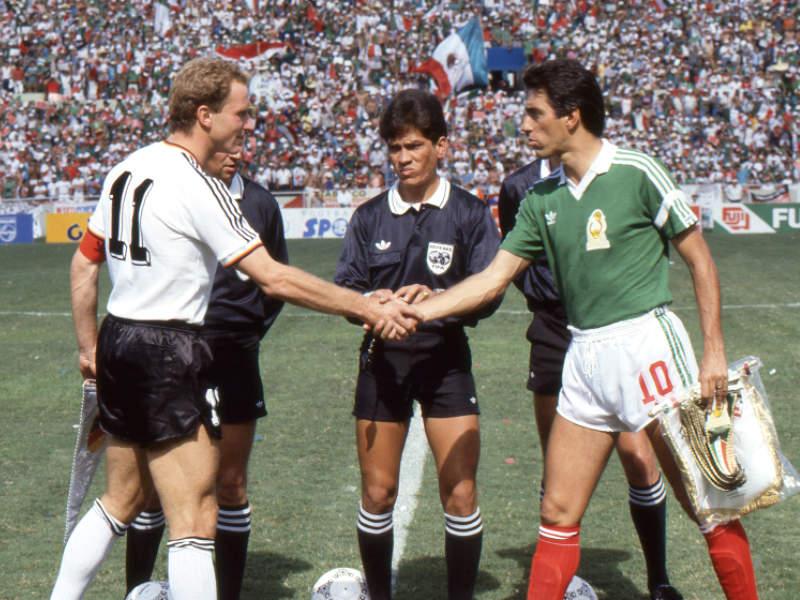 México-Alemania en el Zócalo