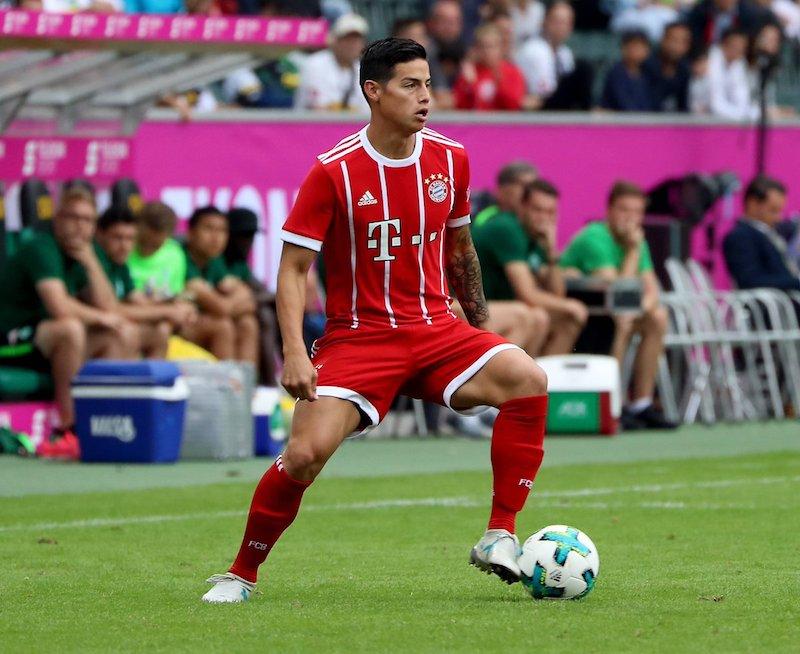 James Rodríguez debuta con el Bayern Munich
