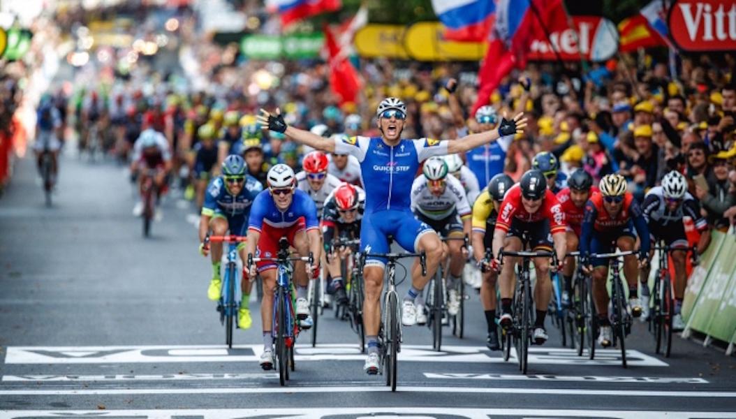 Kittel se cuelga la 2da etapa del Tour de Francia