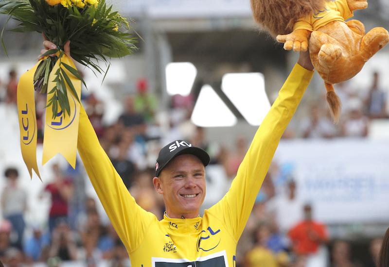 Froome consigue cuarto Tour de Francia