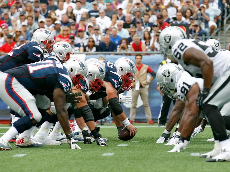 Anuncian preventa para Raiders-Patriots