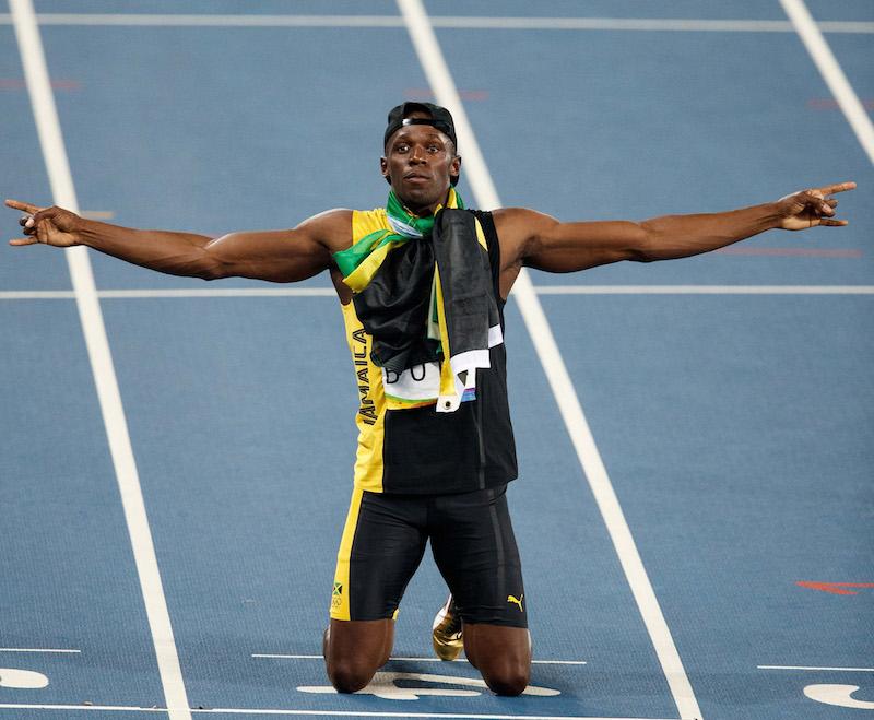 Usain Bolt, el más rápido en la historia de la humanidad