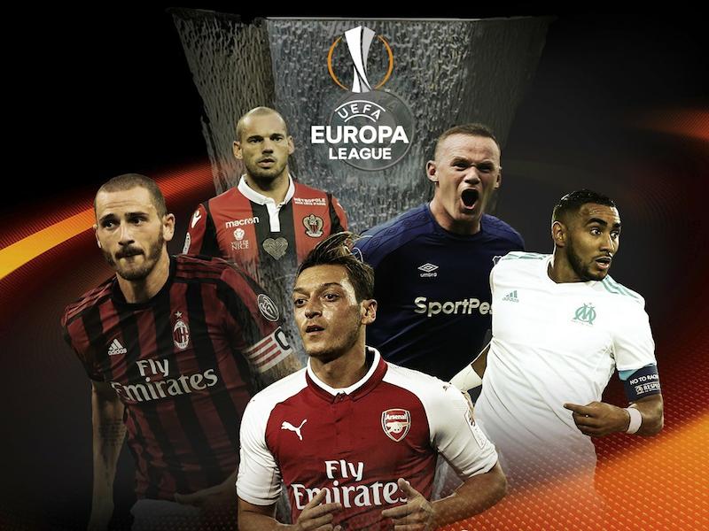 Arsenal y Milán con rivales para Europa League