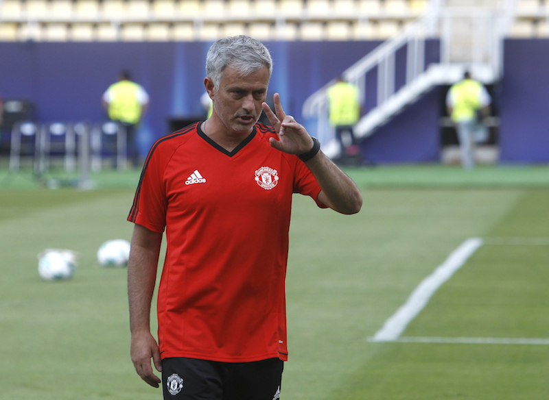Mourinho calienta la Supercopa de la UEFA