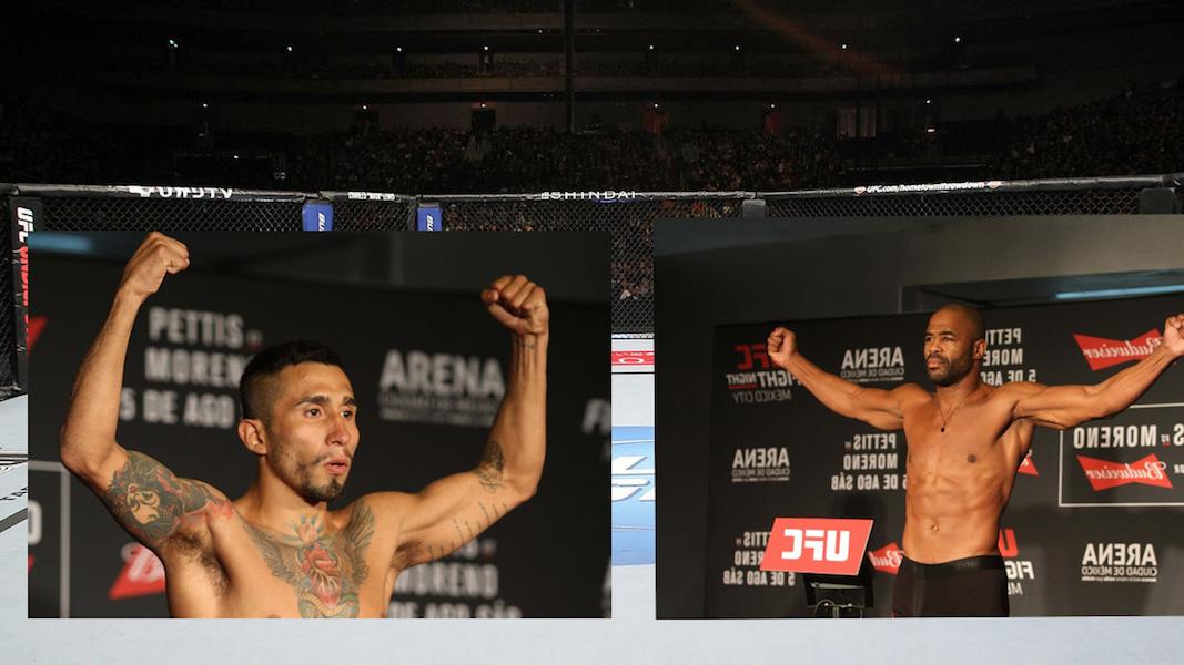 ¡Peleadores de la UFC, listos para el combate!