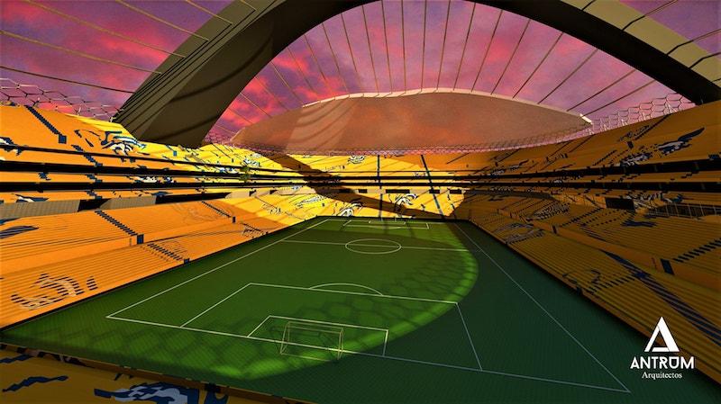 Resultado de imagen para nuevo estadio de tigres