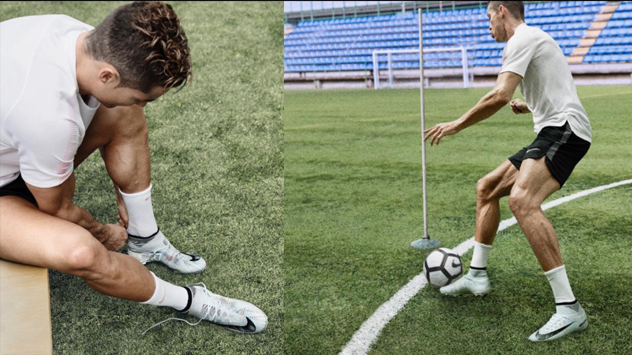 Cristiano Ronaldo reta a deportistas con el #CR7Challenge