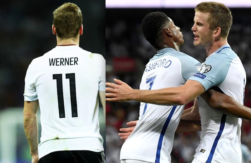 Alemania e Inglaterra con un pie en Rusia 2018