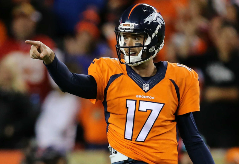 Brock Osweiler regresa a los Broncos de Denver