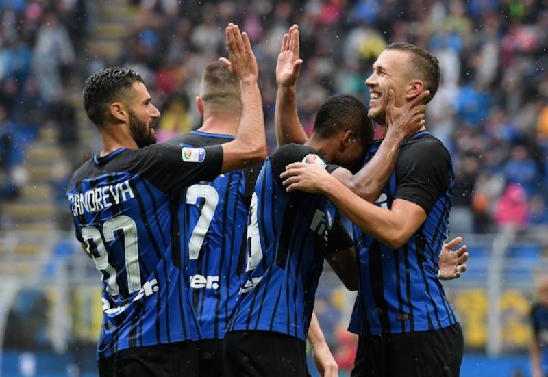 Inter gana y sigue en lo más alto de la Serie A