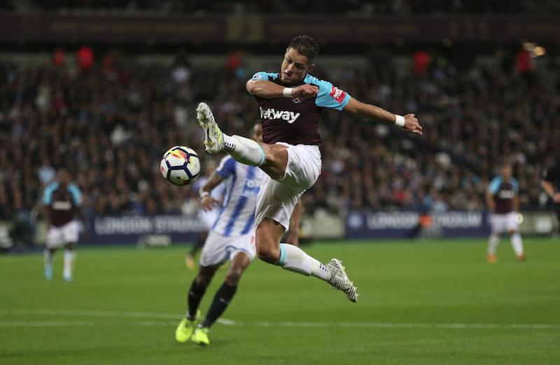 Chicharito y West Ham logran su primer triunfo en Premier