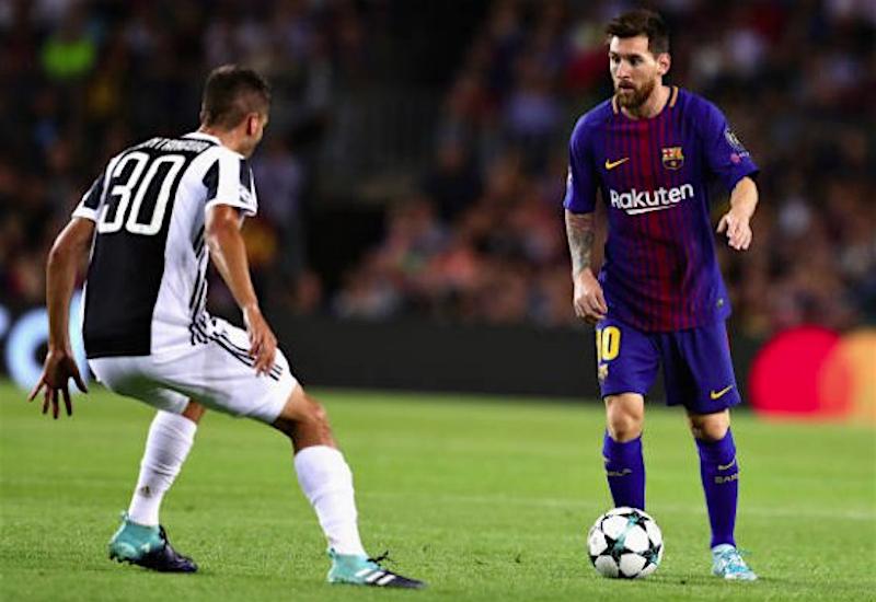 Messi lidera triunfo de Barcelona sobre Juventus