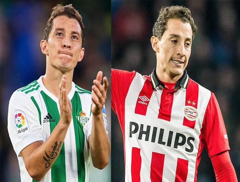 PSV y Betis felicitan a Guardado por su cumpleaños