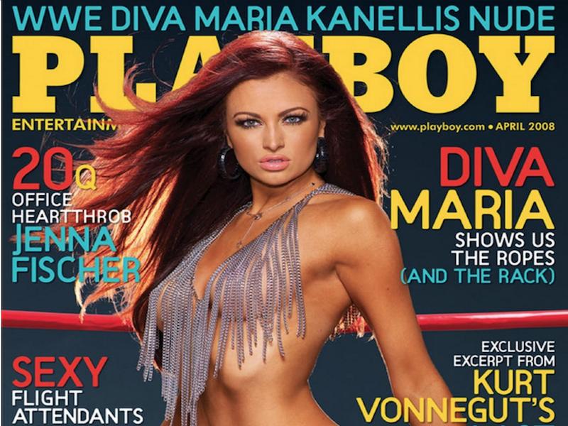 Maria Kanellis Portada Playboy Foto Especiales Estadio Deportes