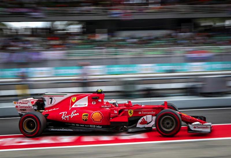 Ferrari domina accidentada segunda sesión de Malasia