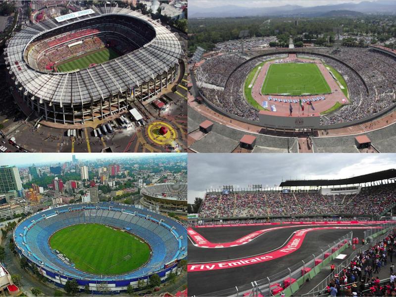 CDMX lista para recibir eventos deportivos