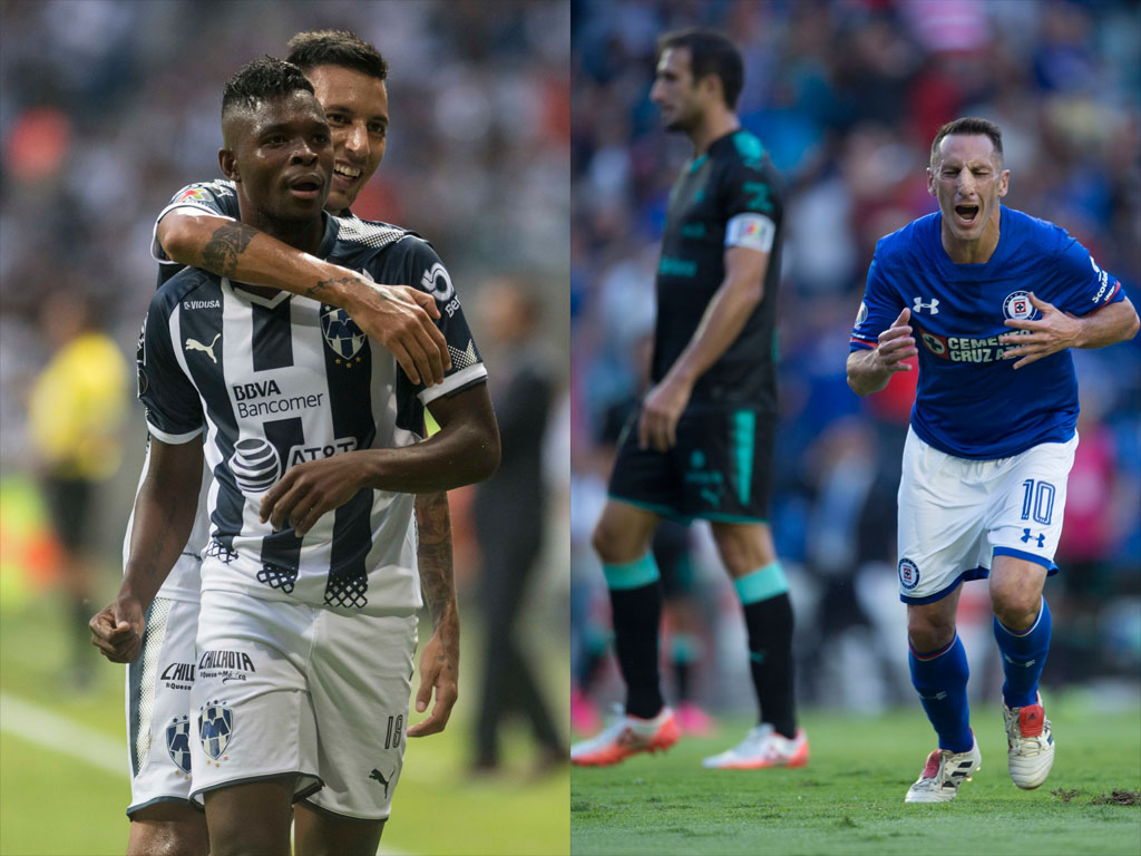 Cruz Azul y Monterrey buscan retener invicto en Fecha 11