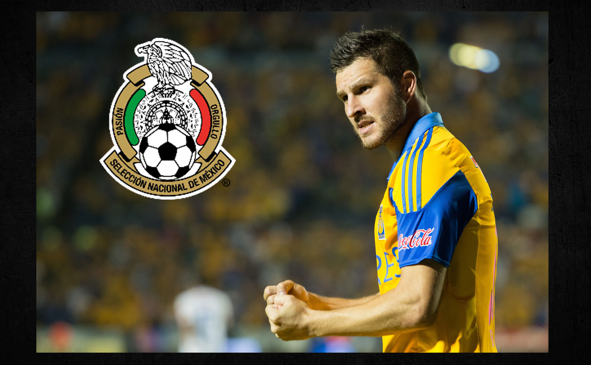 Edén Gignac, futuro delantero de la Selección Mexicana