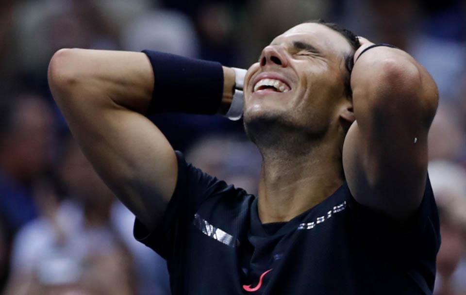 Rafael Nadal se corona en el US Open