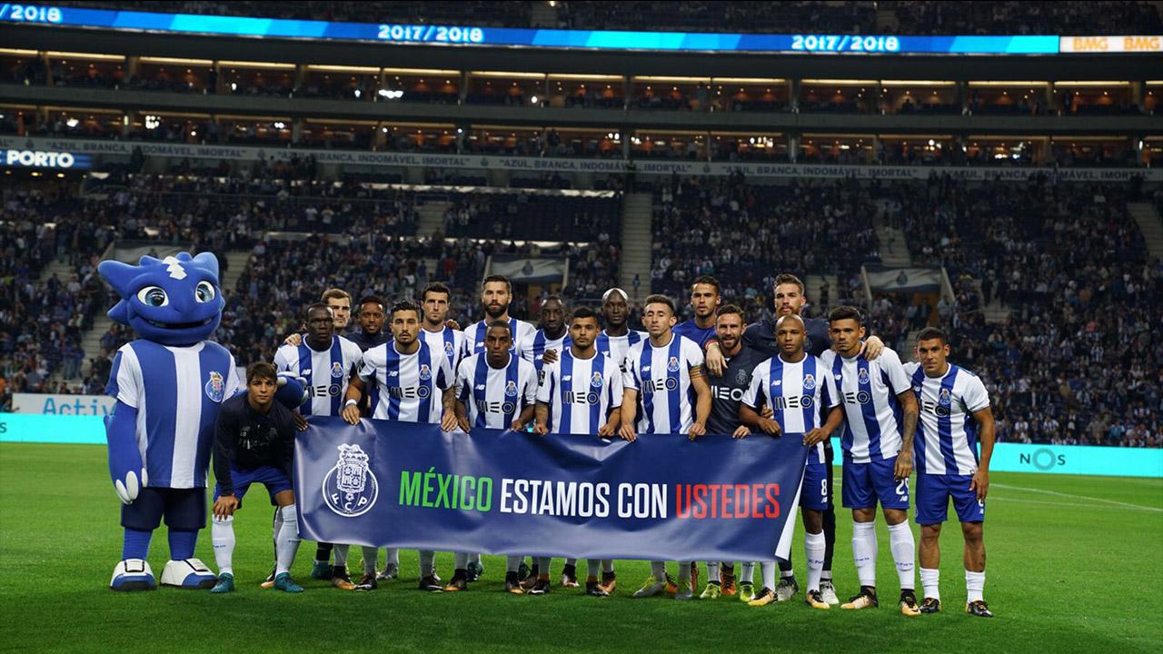 Porto dedica goleada a México