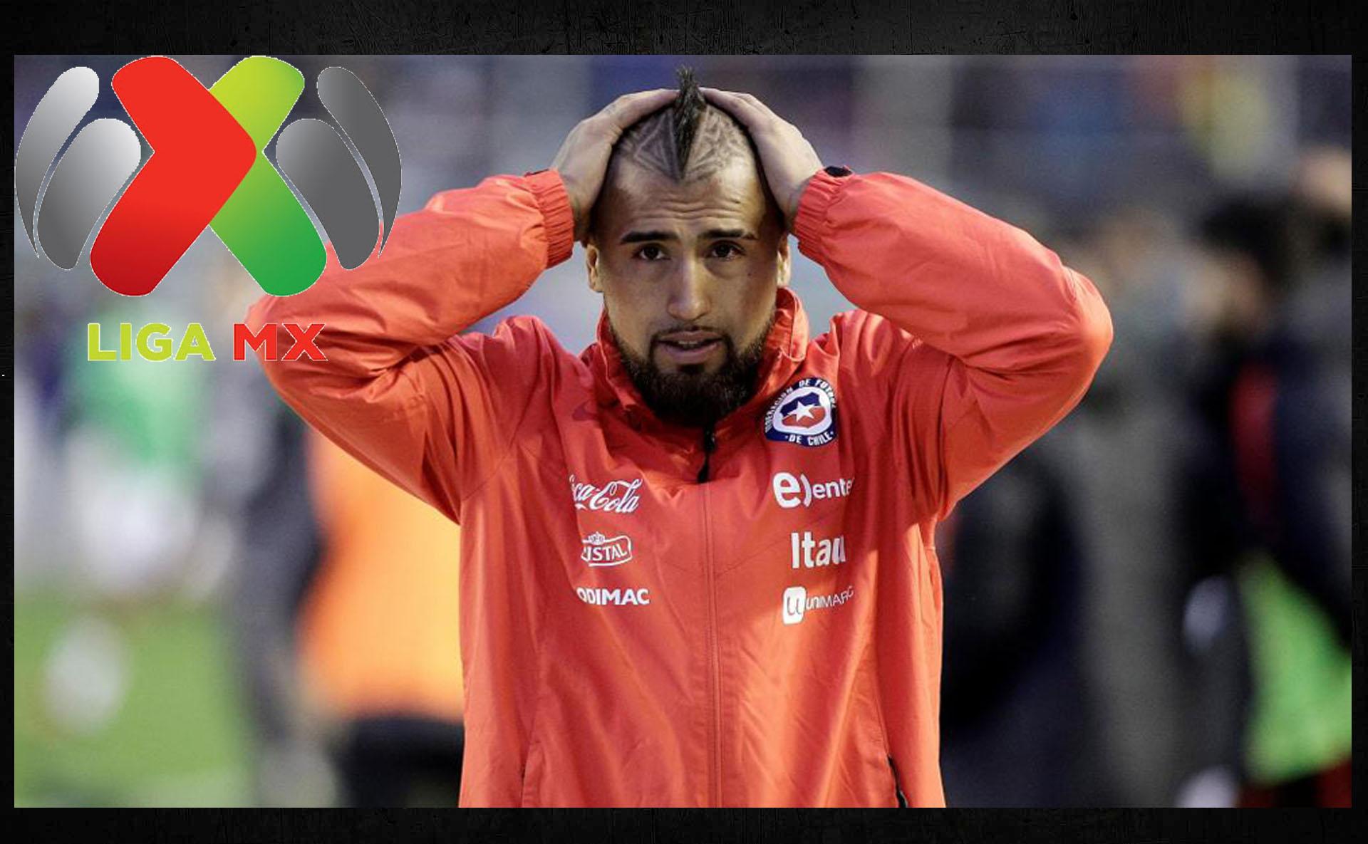 Arturo Vidal culpa a la Liga MX por el mal paso de Chile
