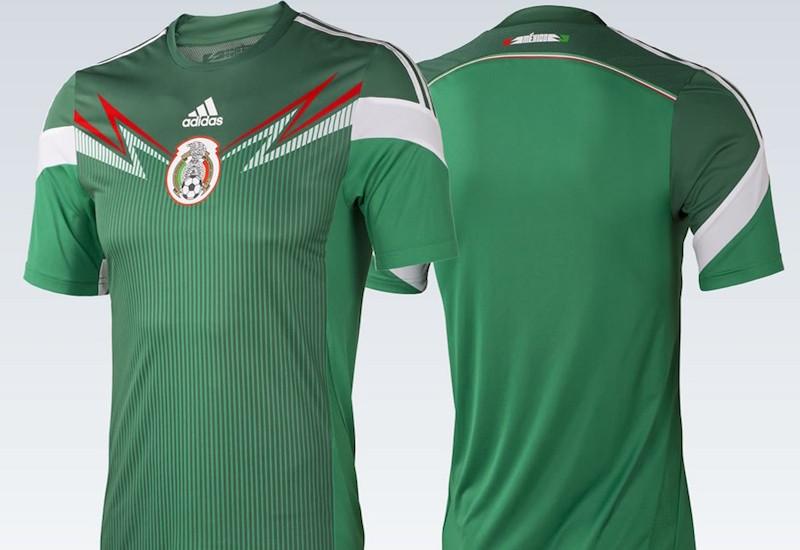 cb78a933cd15a La camiseta del TRI a lo largo de la historia - Estadio Deportes
